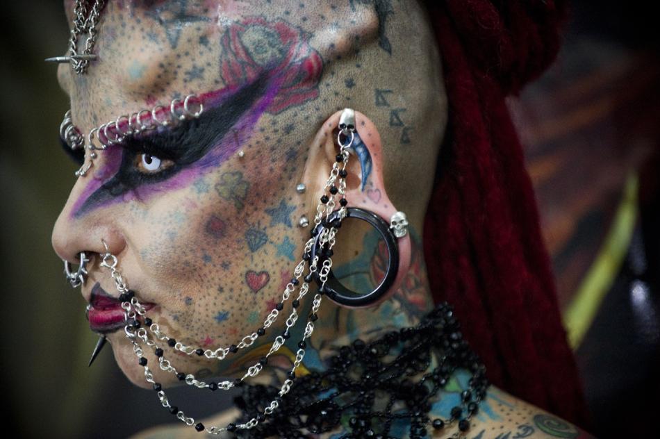 荷花纹身图案大全图片女