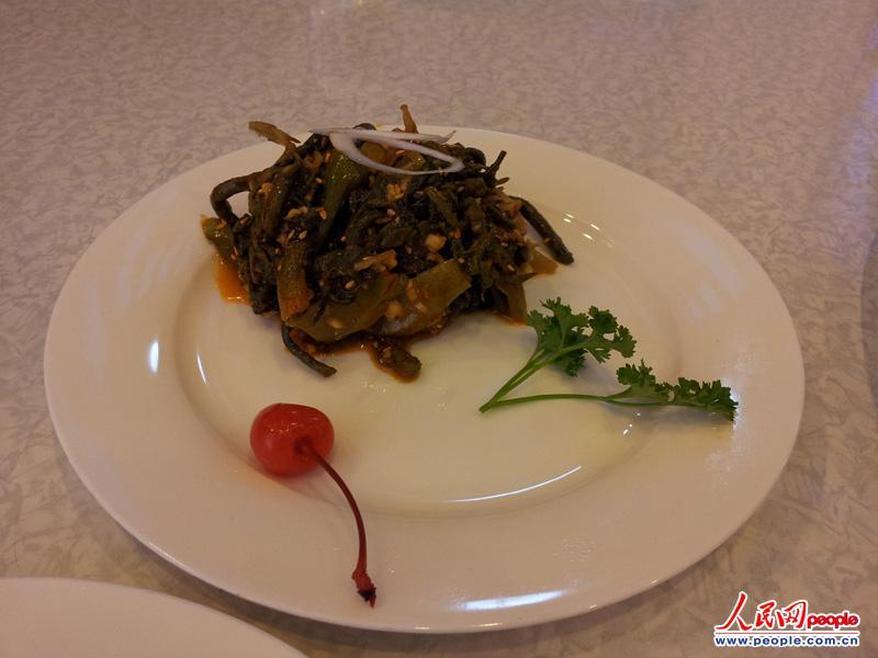 高清组图:揭秘朝鲜美食之最 探访高人气冷面馆