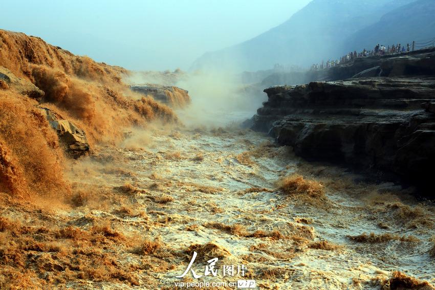 高清组图:陕西延安 黄河壶口瀑布奇观【3】