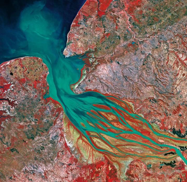 卫星遥感地图看地球面临的严峻挑战