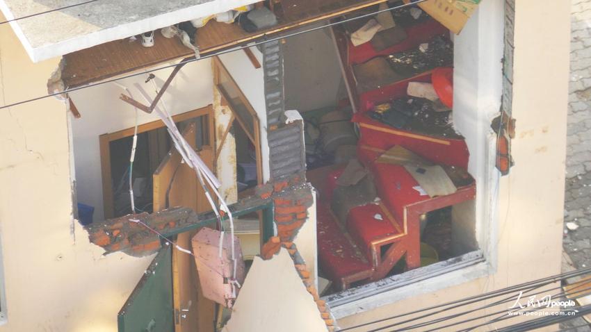 青岛环卫工宿舍突发爆炸 掀翻屋顶墙体被炸飞 【6】