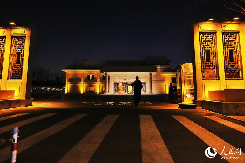 不经允许,北京·中国会所的大门不得进入。张茉然 林晖/CFP