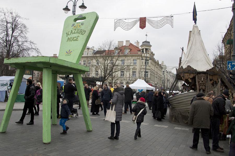立陶宛举办有四百年历史的卡祖卡斯集市
