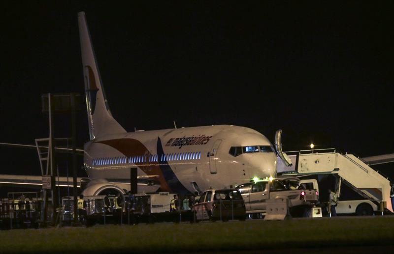 马来西亚航空公司mh192航班安全迫降在