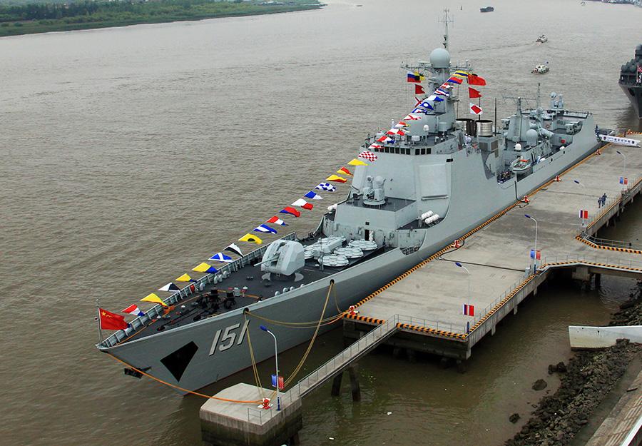 参加海上v海军-2014军事演习的中俄海军多人视频官兵yy图片