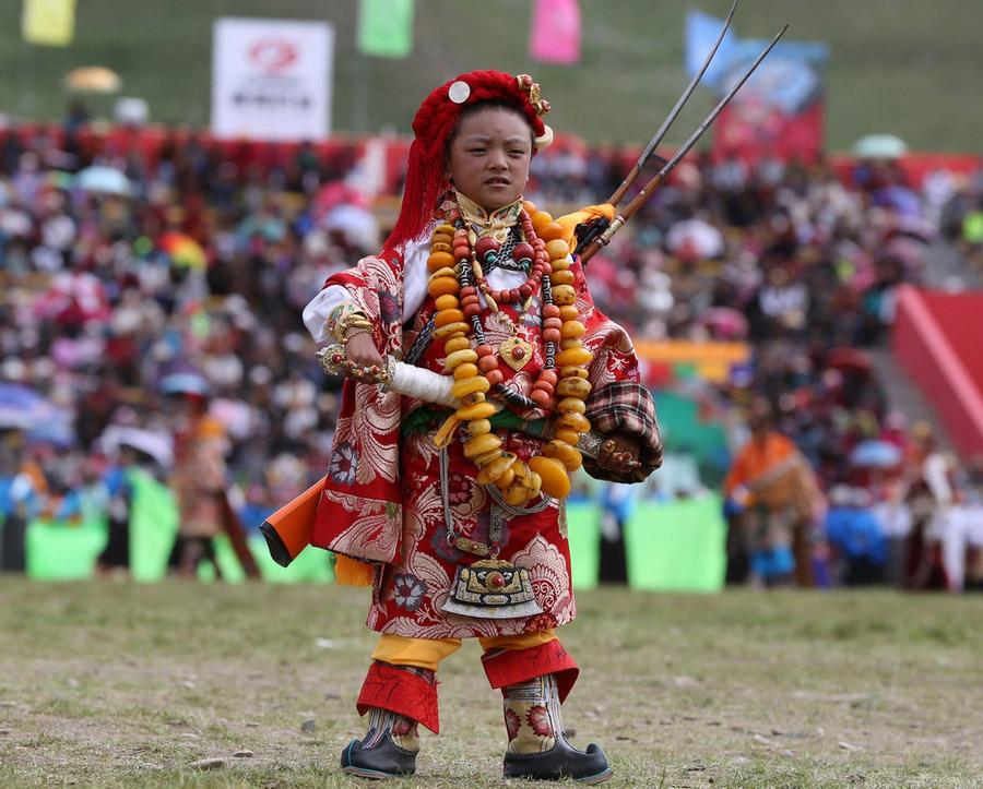 最美的藏族服饰在玉树【5】