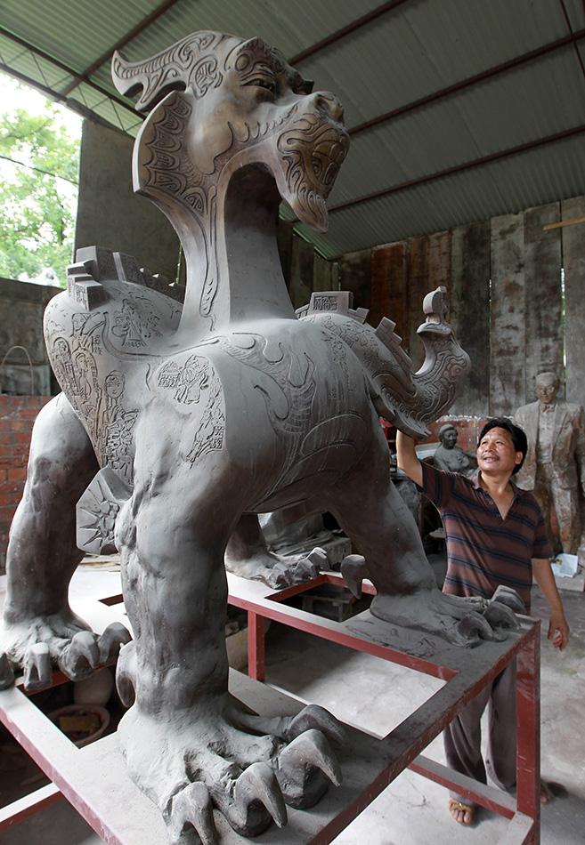 """雕塑家的中国梦:用雕塑这门""""世界语言""""讲好""""中国故事"""""""