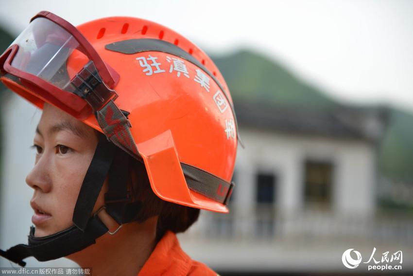 全国首个女子地震救援队赴灾区救援