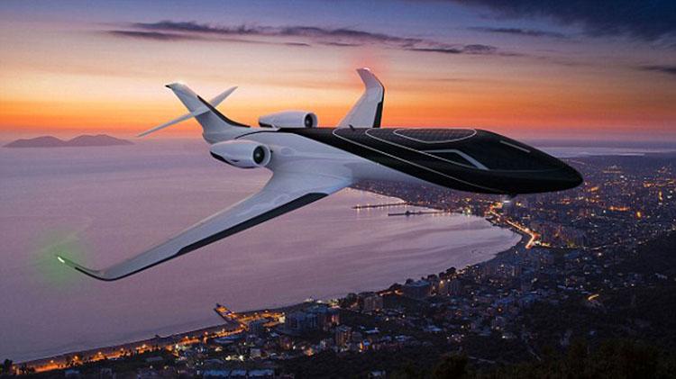 未来飞机概念图出炉 透明机身全景飞行不是梦【4】