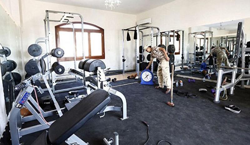 美国大使馆的健身中心