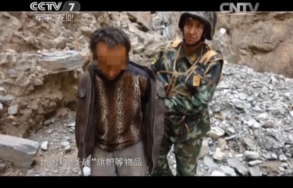 新疆武警边境拦截暴徒视频曝光