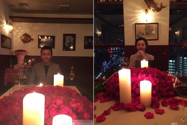 孙俪微博照片_邓超孙俪庆祝结婚5周年 共享烛光晚餐超浪漫--图片频道--人民网