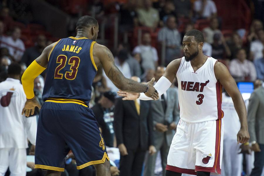 NBA常规赛:热火胜骑士