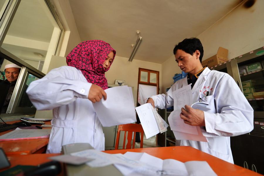...考试开始从事基层医疗卫生工作. 2010年马少青和同是卫校...