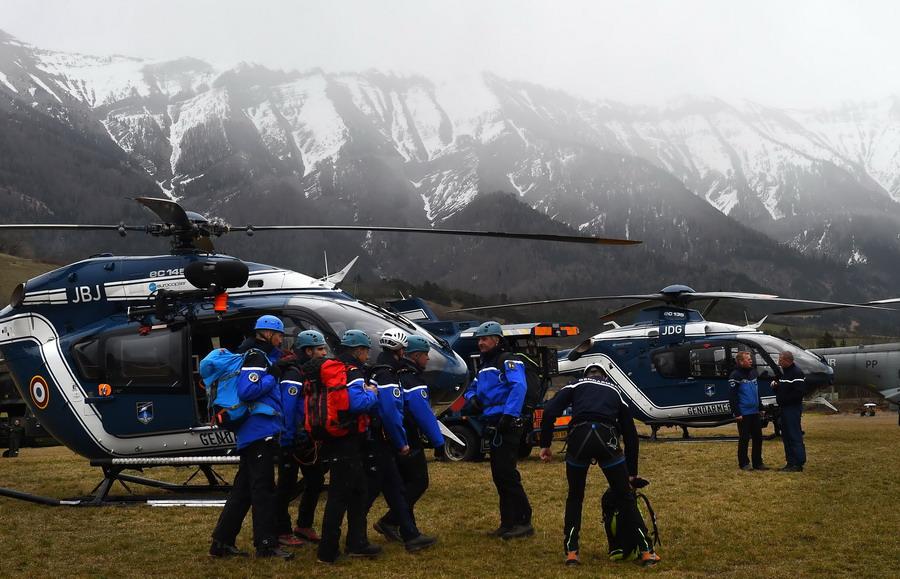 2015年3月24日德国客机失事事件--图片频道--人民网