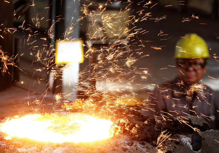 河北泊头铸造业进行深度环保整治