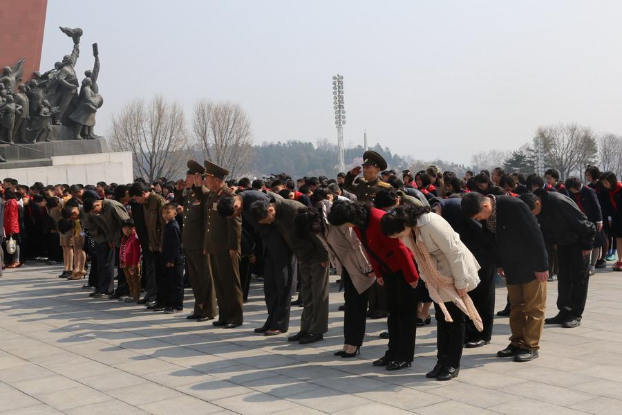 4月15日是朝鲜已故国家领导人金日成诞辰103周年纪念日,即朝鲜的