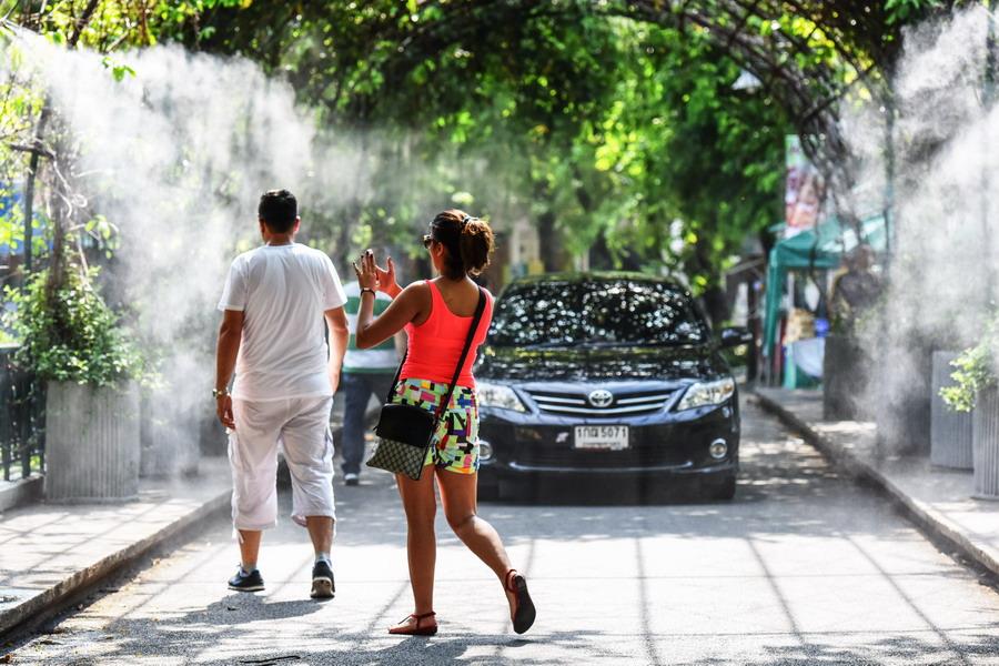泰国迎来高温天气