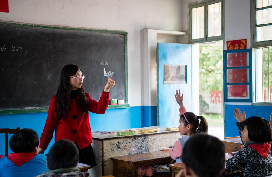 教师的服务132p图片_乡村教师的心声--图片频道--人民网