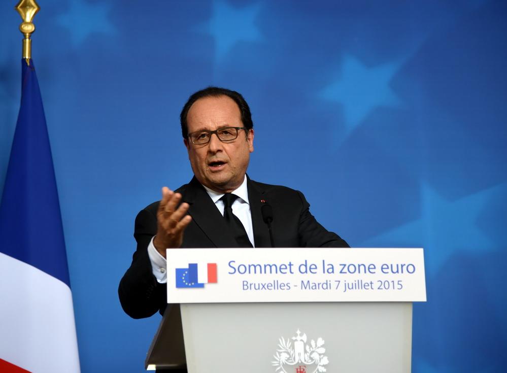 欧盟领导人敦促最晚12日达成希腊救助协议图片