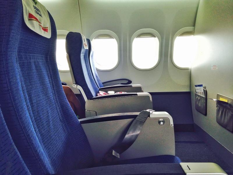 拍摄的arj21-700飞机机舱