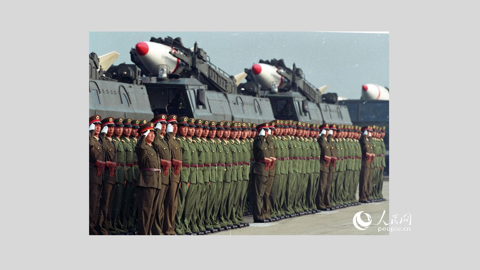 1999年国庆阅兵,第二炮兵常规地地导弹方队
