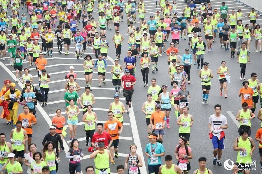 2015北京马拉松掠影