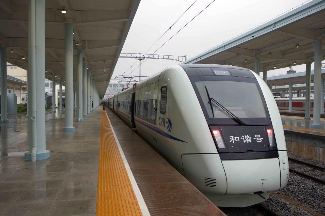 全球首条环岛高铁贯通 沿途经海南12市县
