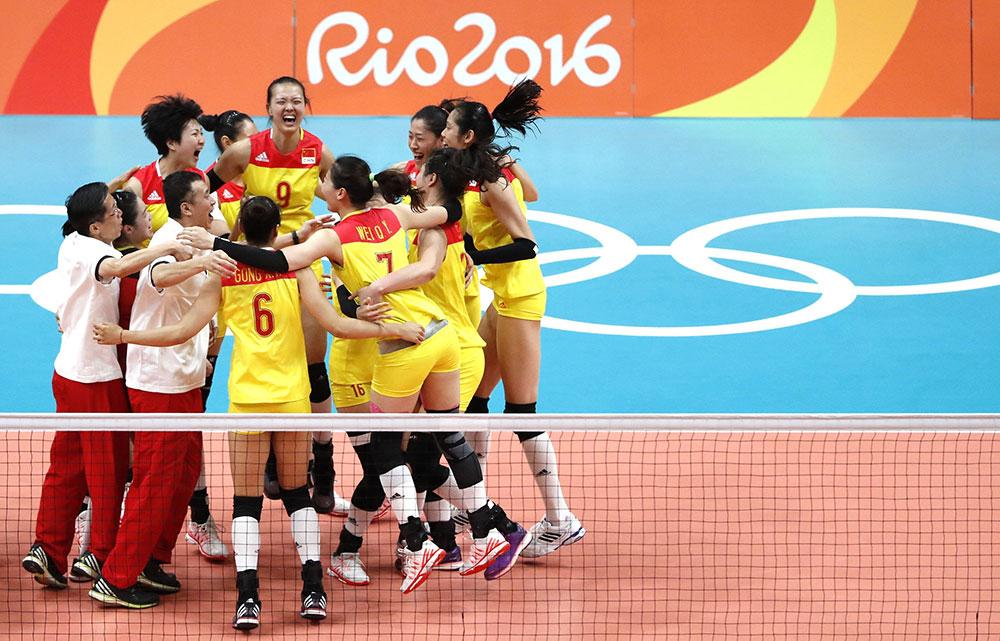 中国女排时隔12年再夺奥运冠军【2】