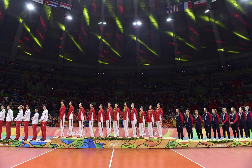 中国女排时隔12年再夺奥运冠军【5】