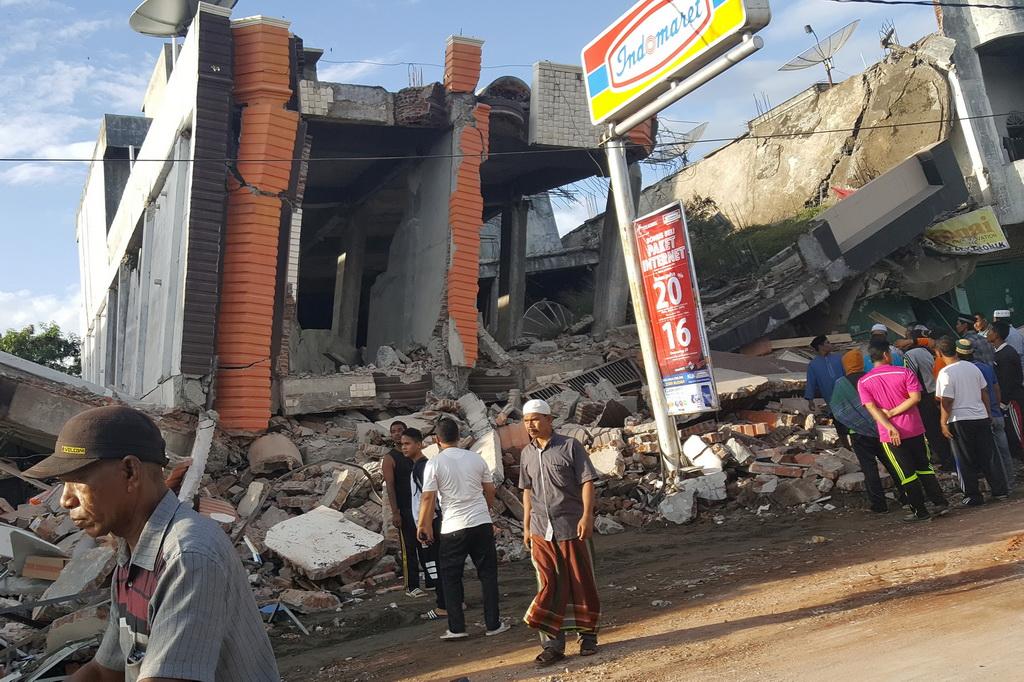 死亡20人_印尼7级地震 印尼发了地震中国人叫好 印尼龙目岛发生7.0级地震