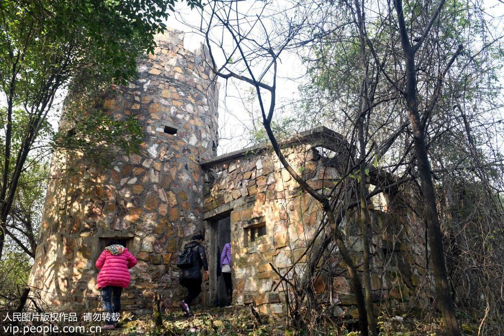 安徽铜陵铜官山发现侵华日军碉堡群
