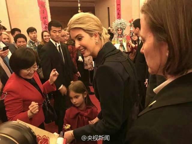 特朗普最美女儿现身中国驻美大使馆贺新年【6】