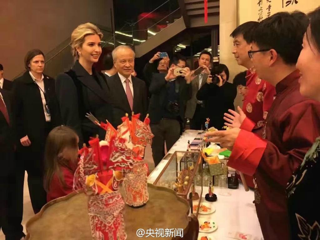 特朗普最美女儿现身中国驻美大使馆贺新年【5】