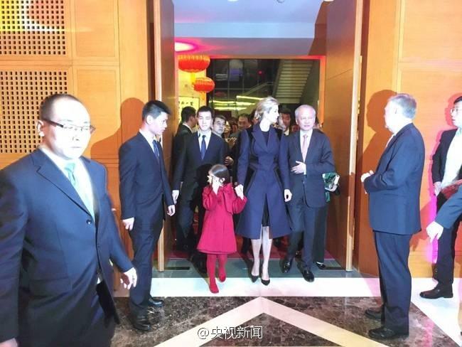 特朗普最美女儿现身中国驻美大使馆贺新年【4】