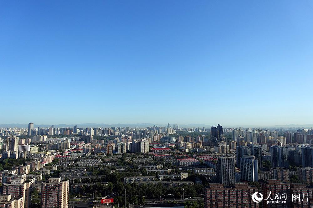北京:蓝天白云秋意浓 空气质量一级棒【2】