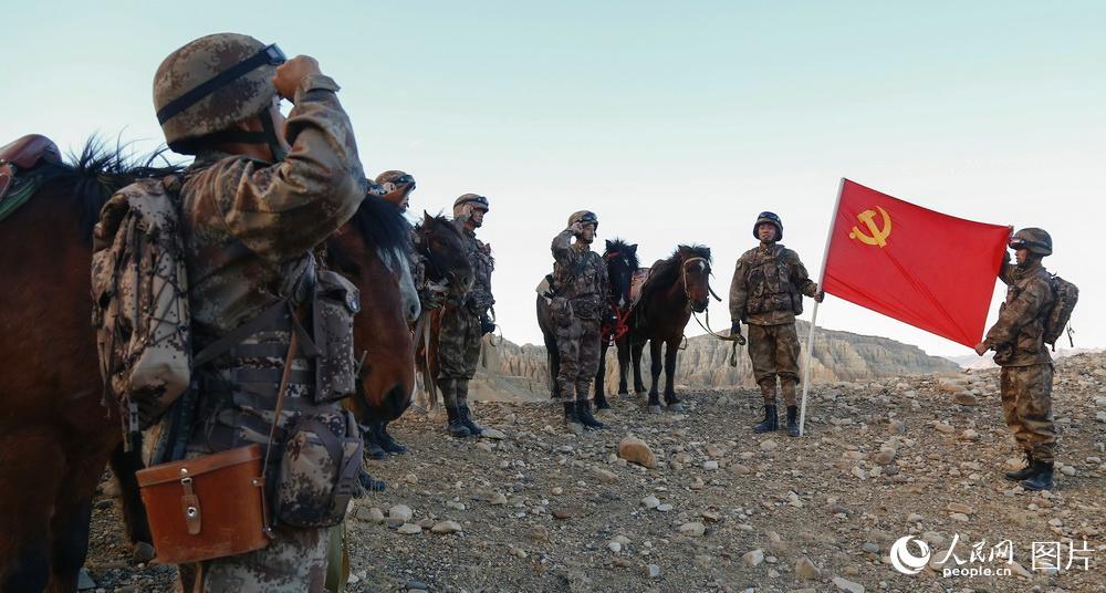 西藏阿里:退伍老兵的最后一次边防巡逻