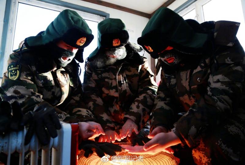 -45℃,冰霜满面,他们依然巡逻在边境线上【9】