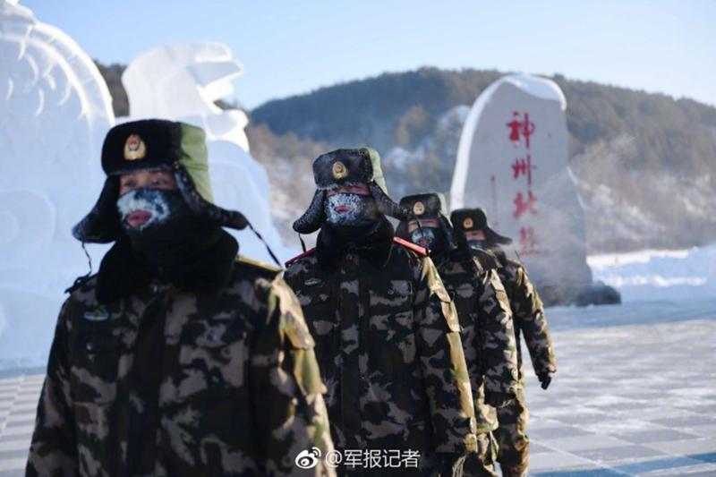 -45℃,冰霜满面,他们依然巡逻在边境线上【4】