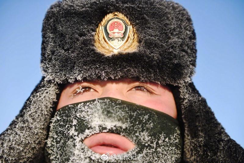 -45℃,冰霜满面,他们依然巡逻在边境线上【2】
