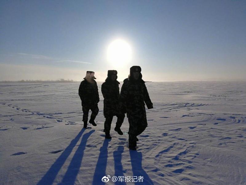-45℃,冰霜满面,他们依然巡逻在边境线上【5】