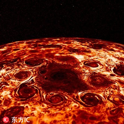 木星如此像地球?NASA发现木星内部喷射气流和模式气旋