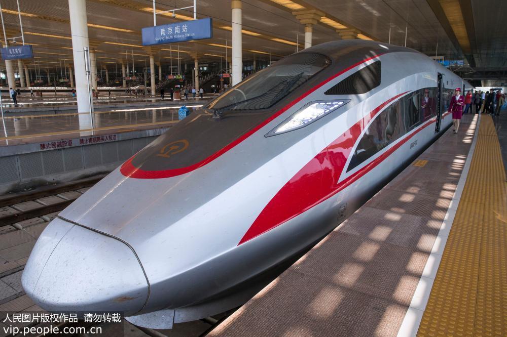 """全国铁路4月10日实行新列车运行图""""复兴号""""开行数量增加"""