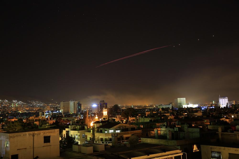 组图:美联合英法对叙进行军事打击