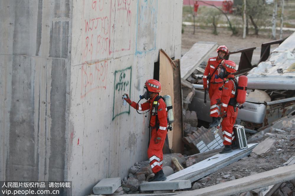 武警宁夏总队机动支队进行实战化训练考评