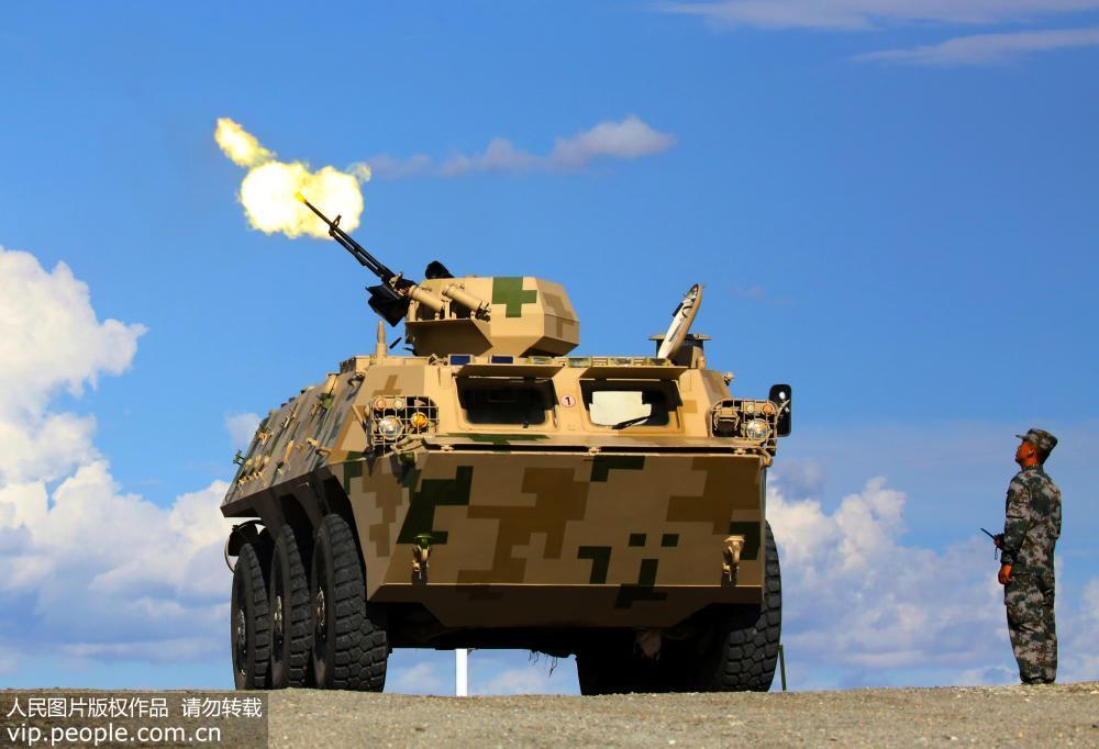 """新疆军区某师:备战国际军事比赛—2018""""晴空""""比赛"""