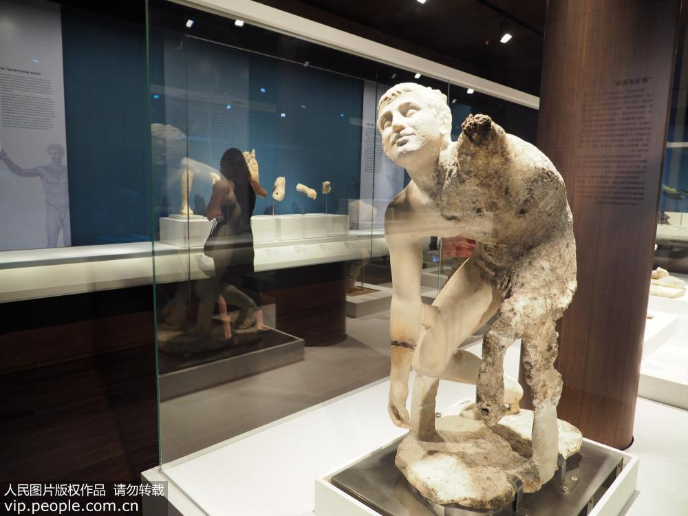 北京:古希腊350件海底遗珍亮相故宫