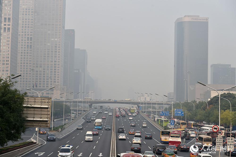 北京空气质量已达中重度污染【4】