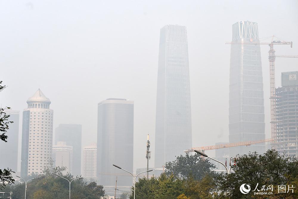 北京空气质量已达中重度污染【3】