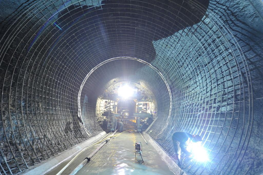 """深入地下110米看看千岛湖配水工程的""""命脉"""""""